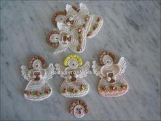 OFICINA DO BARRADO: Croche - Colorindo os Anjos ...