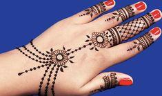 Simple Hand Henna, Hand Tattoos