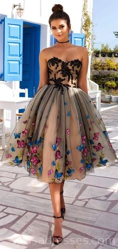 homecoming dresses short Sweetheart Butterfly Flower Unique Cheap Homecoming Dresses Online, Cheap Short Prom Dresses, The Homecoming Dressesarefully bones in the Pretty Dresses, Sexy Dresses, Beautiful Dresses, Evening Dresses, Formal Dresses, Long Dresses, Glamorous Dresses, Cheap Short Prom Dresses, Unique Dresses Short