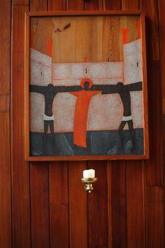 Stacja II - Jezus bierze krzyż na swoje ramiona