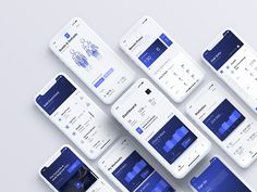 Kenko – Workout tracker app & UI Kit on Behance Workout Tracker App, Fitness Tracker App, 7 Workout, Gym Fitness, Mobile Ui Design, App Ui Design, Web Design, Graphic Design, Design Ideas