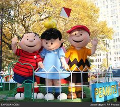 Peanuts Float - 81st Annual Macy's Thanksgiving Day Parade
