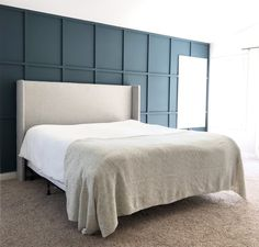 board and batten wall How to DIY a Board and Batten Wall: Dos and Donts Bedroom Wall, Master Bedroom, Dream Bedroom, Bed Room, Kids Bedroom, Bedroom Ideas, Wall Boards Panels, Game Room Design, Board And Batten