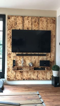 House decor - racks para tv de paletes, arte com paletes, sof Home Design Decor, Diy Home Decor, House Design, Decor Crafts, Living Room Wall Units, Living Room Designs, Wooden Pallet Furniture, Diy Furniture, Furniture Design