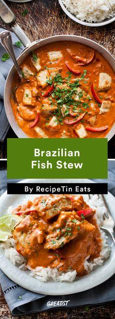 5. Brazilian Fish Stew #healthy #Brazilian #recipes http://greatist.com/eat/brazilian-recipes-that-are-surefire-winners