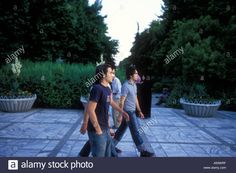 Download this stock image: Young men on street in northern Tehran, Iran  ©2005 Mark Shenley - A93WRF from Alamy's library of millions of high resolution stock photos, illustrations and vectors.