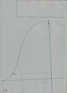 A pedido de algumas seguidoras vou publicar o molde base casaco senhora no tamanho 52 na tabela de medidas Portuguesa. Na tabela de medidas Brasileira...