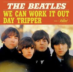 Paul McCartney Reveals Stories Behind The Beatles' No. Beatles Album Covers, Music Covers, Beatles Singles, The Beatles, Beatles Day Tripper, Rubber Soul Beatles, Greatest Album Covers, Number One Hits, Capitol Records