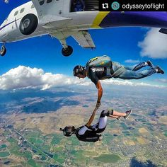 #Repost @odysseytoflight with @repostapp ・・・ Love that we are a skydiving couple! Thanks to @itsyifan for grabbing this shot! @Regrann from @evilskybunny • • #O2F #skydive #gopro #jointheteem #sky #skydiver #freefly #freefall #skydivers #flyfast #adventure #parachute #goprooftheday #adrenaline #blueskies #iloveskydiving #extreme #cookiehelmets #goprohero #extremesports #flying #flycookie #paraquedismo #fly #dropzone #paracaidismo #skydivegram #instagood #fun