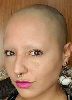 #hairdare #bald #smooth #headshave #closeshave #baldwoman #shavedhead #baldbychoice #browless #hairless #sexy #beautiful #womenshair Shave Eyebrows, How To Draw Eyebrows, Short Hair Cuts, Short Hair Styles, Skinhead Reggae, Bald Girl, Bald Women, Close Shave, Shaving Razor