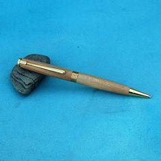 Handcrafted Wooden Pen  Wood Oak Ballpoint Twist by nwwoodcrafters