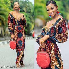 Beautiful classy and chic ankara styles for sexy ladies #ankara #ankarastyles #asoebi #asoebibella
