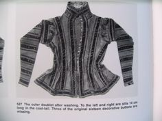 """Abegg Foundation: """"Textile Conservation and Research"""": 'Doublet of Count Friedrich von Stubenberg' - Take a Deep Breath. Doublet, Deep Breath, 16th Century, Conservation, Counting, Foundation, Take That, Bodysuit, Textiles"""