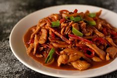 China Food, Shrimp Recipes For Dinner, Asian Recipes, Ethnic Recipes, Japchae, Thai Red Curry, Food And Drink, Cooking Recipes, Baking