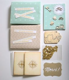 Stationary Snail Mail Package- World Traveler Theme