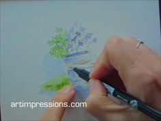 ▶ Art Impressions Project 2 -pail of wild flowers