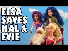Elsa Saves Mal And Evie After Mal And Evie Kidnapped. DisneyToysFan