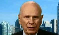 Former Canadian defense minister Paul Hellyer, 90, declared on Russian TV on Saturday that there are 80 different species of aliens and that most are benevolent toward humanity.
