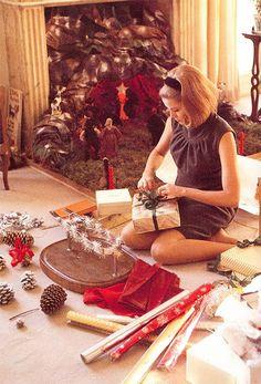The Billy Files: Photo : グレース・ケリーのクリスマスを迎える仕度