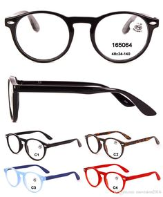 1ab381847ae Wholesale Round Plastic Read Glasses For Women And Man Cheap Fashion Reading  Designer Eyewear Glasses Magnification