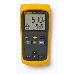 Fluke Single Input Digital Thermometer, 3 AA Battery, to 2501 Degree F Range, 60 Hz Noise Rejection with a NIST-Traceable Calibration Certificate with Data Antigua Und Barbuda, Electrical Maintenance, Trinidad Und Tobago, Temperature Measurement, Thermal Imaging, Digital Thermometer, Temperature And Humidity, Wine Making, Home Brewing