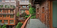 """Designed by architect Luciano Pia, the apartment building is called 25 Verde (which translates to """"25 Green"""")"""