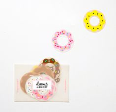 Donut Printables, from Oh Happy Day Projects For Kids, Diy For Kids, Diy And Crafts, Paper Crafts, Envelope Art, Gift Labels, Kids Prints, Note Paper, Printable Paper