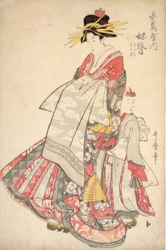 C'est à travers les estampes de Utamaro Kitagawa que je vous invite aujourd'hui à découvrir l'univers féminin du Japon à la fin du XVIIIeme siècle. Utamaro Kitagawa (1753-1806) était un grand peintre, considéré désormais comme le maître dans l'art du...