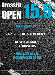 CrossFit Open 15.4 a