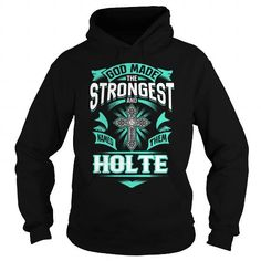 I Love HOLTE HOLTEYEAR HOLTEBIRTHDAY HOLTEHOODIE HOLTE NAME HOLTEHOODIES  TSHIRT FOR YOU T-Shirts