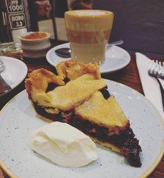 Blueberry #pie. Because #ididntquitsugar #melbournecafe #dessert #coffee