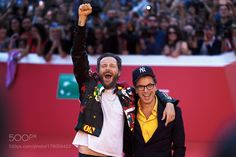Jovanotti and Antonio Monda by gennaroleonardi