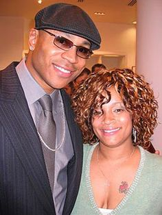 LL Cool J and wife Simone Smith longtime girlfriend and mother of his children, Simone. The couple have been married since 1995.