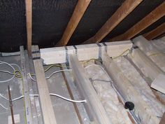 new floor joists fitted in loft conversion
