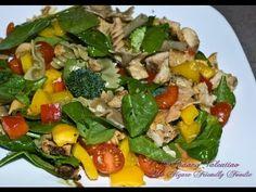 Guilt Free Summer Italian Pasta Salad   The Figure Friendly Foodie