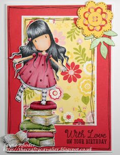 Tea, Cake and Crafting: Gorjuss New Heights