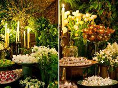 Casamento despojado em verde e branco | Constance Zahn - Blog de casamento para noivas antenadas.