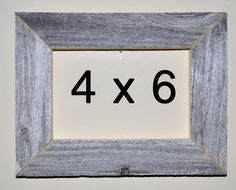4 x 6 Driftwood Picture Frame 324 by DriftwoodMemories on Etsy