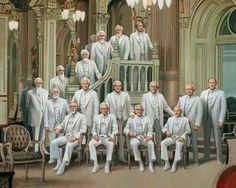 The Portrait of the Prophets is a remarkable prophet painting depicting all of the LDS prophets from Joseph Smith to Thomas S. Monson standing together.