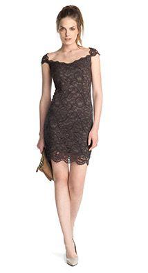 Esprit / Elegantti mekko pitsiä