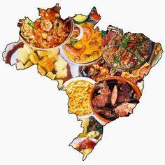 """""""Brasil, meu Brasil Brasileiro"""": A CULINÁRIA BRASILEIRA - FOLCLORE"""