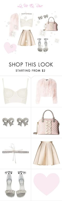 """""""♡ La Vie En Rose ♡ (Night Out Look)"""" by kaylalovesowls ❤ liked on Polyvore featuring Topshop, Alexander McQueen, M&Co, Betsey Johnson, ERTH, Tara Jarmon and Givenchy"""