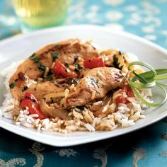 Thai-Style Chicken by Cooking Light