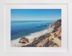 """""""California Coastline"""" by Christian Florin in beautiful frame options and a variety of sizes."""