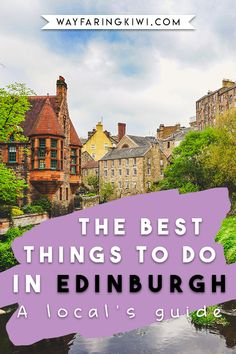 Are you planning a trip to Edinburgh Scotland? Make sure you read my best tips on things to do in Edinburgh! I've been living in Edinburgh for over 1 year now, and here are my favourite things to see in Edinburgh. Don't forget to save this to your travel Edinburgh Travel, Scotland Travel, Ireland Travel, Trips To Scotland, Edinburgh Uk, Scotland Tours, Edinburgh Castle, Glasgow Scotland, London Travel