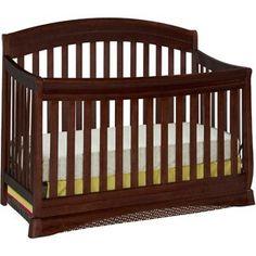 Delta Children's Products Silverton 4-in-1 Fixed-Side Crib, Black Cherry$189.63  Walmart
