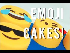 Chocolate Cake Emojis with Adorable Fondant Faces – HOW TO CAKE IT