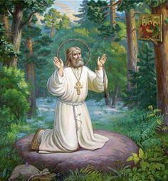 Преподобный Серафим Саровский - ЧУДНЫЕ МГНОВЕНИЯ ВЕСЕЛОГО И ГРУСТНОГО