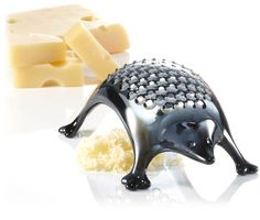 The Koziol Cheese Grater looks like a scared hedgehog. $16