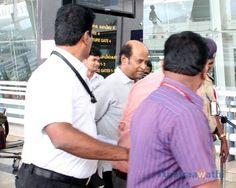 Rajinikanth stuck at Chennai airport